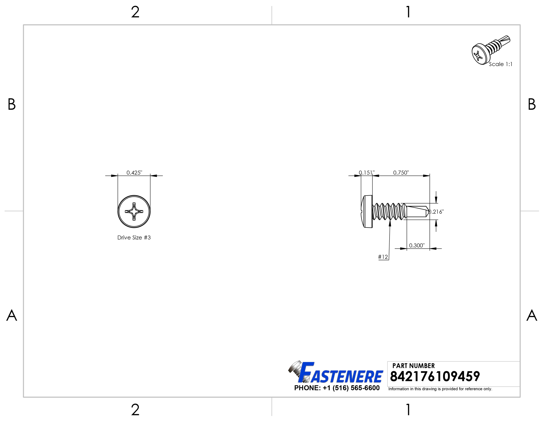 """Sheet Metal Screws Stainless Steel Pan Head Square Drive #12 x 1/"""" 300 each+bit"""