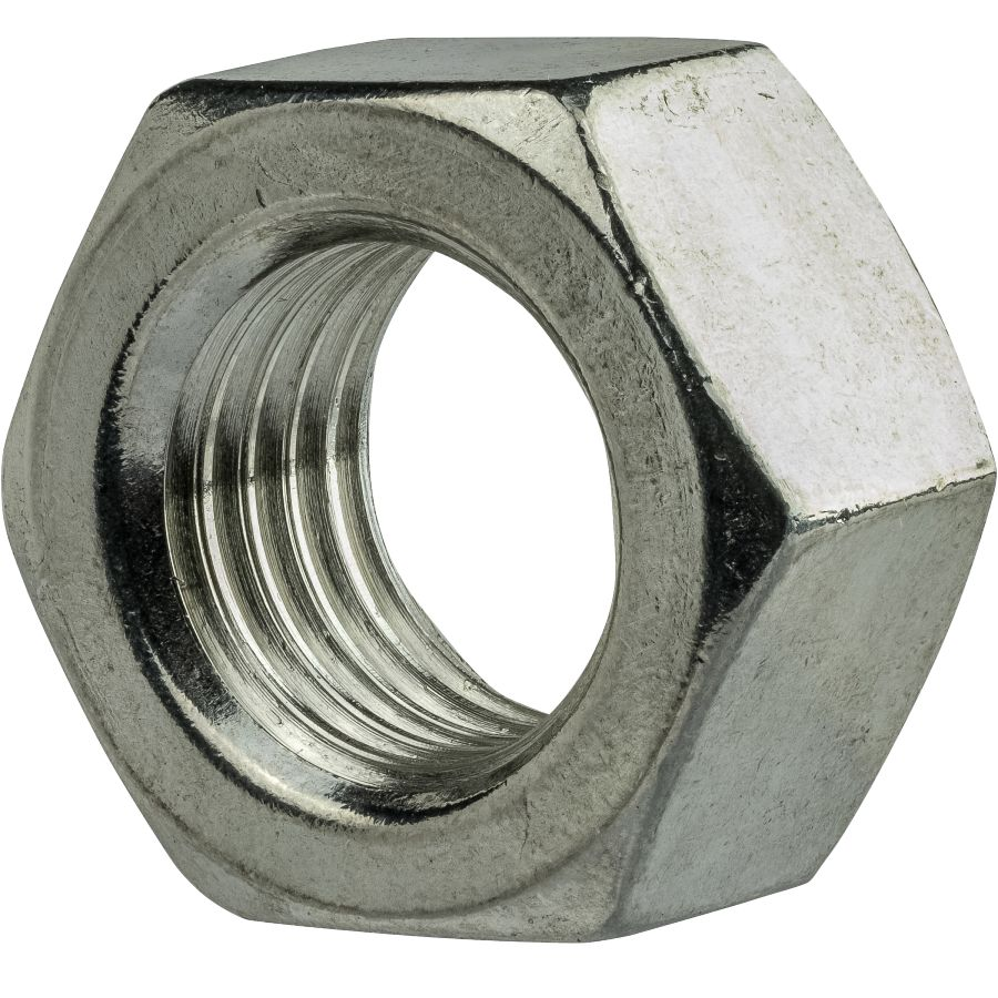 M4-0.70mm Metric flange nuts serrated Stainless steel 18-8 A-2 100 pcs